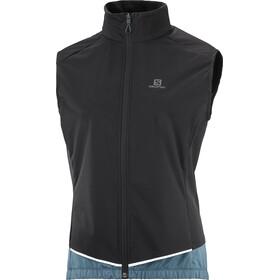 Salomon Light Shell Vest Women, nero/blu